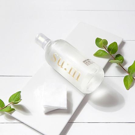 Tẩy Trang Dạng Nước Làm Sạch Sâu Và Dưỡng Ẩm Da Su:m 37 Skin Saver Essential Pure Cleansing Water