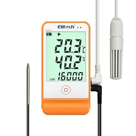 Nhiệt ẩm kế tự ghi Elitech GSP-6 ( chưa hiệu chuẩn )