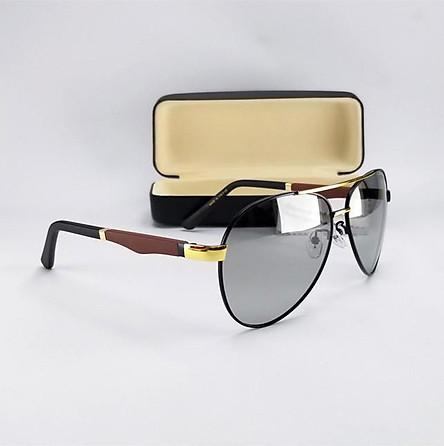 Mắt kính mát nam đổi màu dùng cả ngày và đêm, tròng Polaroid trong suốt. Mã DKY8842DM.