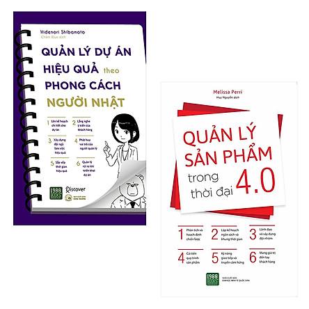 Combo Sách Quản Lý: Quản Lý Dự Án Hiệu Quản Theo Phong Cách Người Nhật + Quản Lý Sản Phẩm Trong Thời Đại 4.0