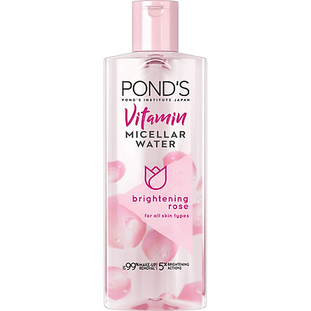 Nước Tẩy Trang Vitamin Và Hoa Hồng Sáng Da  Pond's Micellar Water