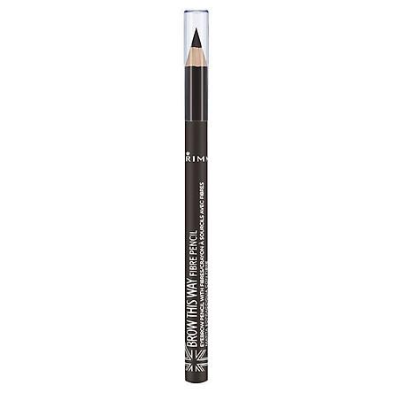 Rimmel Brow This Way Fibre Pencil Dark