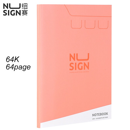 Nusign Student Index Grid Book 64K 25K 16K Notebook Notepad 64 Pages Loose-leaf Office Handbook Lattice Note Book Conference Book Category Page Daily Plan Organizer Stationery Supplies School Office Use