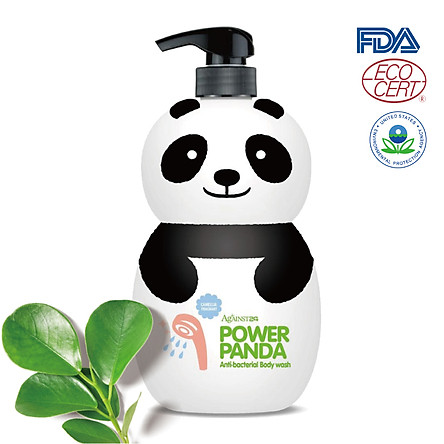 Sữa tắm DƯỠNG ẨM gia đình Power Panda 1000ml KHÁNG KHUẨN (DÙNG ĐƯỢC CHO TRẺ SƠ SINH)