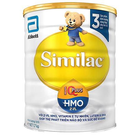 Sữa Bột Abbott Similac IQ3 HMO (1.7kg)