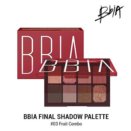 Bảng phấn mắt Bbia Final Shadow Palette – #03 Fruit Combo