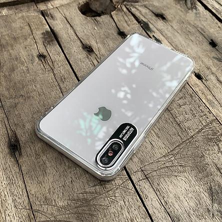 Ốp lưng bảo vệ camera dành cho iPhone XS MAX - Màu đen
