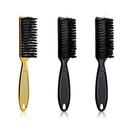 3PCS Hair Cleaning Brush with Plastic Handle Barber Neck Duster Unwanted Hair Removal Comb Hair Styling Hairdressing