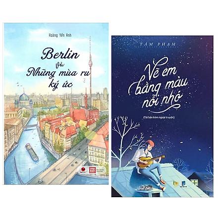 Combo 2 Cuốn Sách Văn Học Hay: Vẽ Em Bằng Màu Nỗi Nhớ + Berlin Và Những Mùa Ru Ký Ức / Những Cuốn Tiểu Thuyết Lãng Mạn Hay Nhất - Tặng Bookmark Happy Life