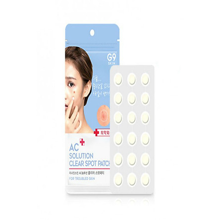 [G9SKIN] AC Solution Clear Spot Patch 36pcs