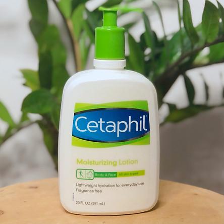 Sữa dưỡng ẩm toàn thân Cetaphil Moisturizing Lotion 591ml chai có vòi