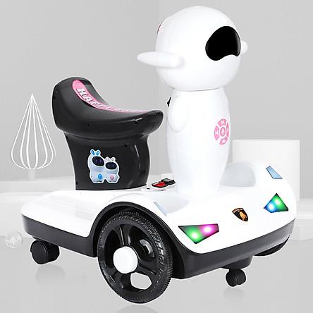 Xe điện tự lái kèm điều khiển từ xa cho bé 2-10 tuổi LL-G2 có nhạc và đèn vui nhộn
