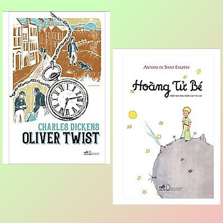 Combo 2 cuốn văn học kinh điển: Oliver Twist + Hoàng Tử Bé