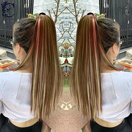 tóc giả cột quấn light ️  50k ️ tóc cột quấn light tóc giả