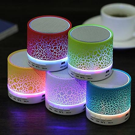 Loa Mini Bluetooth HLD-600 Led Nháy Theo Nhạc (Giao màu ngẫu nhiên)