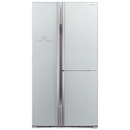 Tủ lạnh 3 cánh SBS HITACHI R-FM800PGV2 (GS) - 600 Lít - Hàng chính hãng