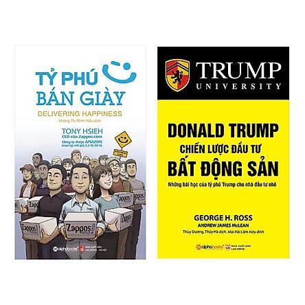 Combo Tỷ Phú Bán Giày (Tái Bản 2018) + Donald Trump - Chiến Lược Đầu Tư Bất Động Sản (Tái Bản 2018)(2 Cuốn)