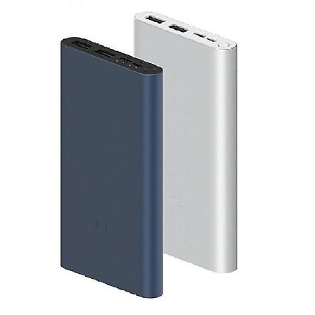 Pin sạc dự phòng Polymer 10.000mAh Xiaomi Mi 18W Fast Charge Power Bank 3-HÀNG CHÍNH HÃNG