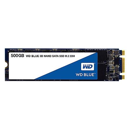 Ổ Cứng SSD WD Blue 3D NAND WDS500G2B0B 500GB M.2 2280 - Hàng Nhập Khẩu