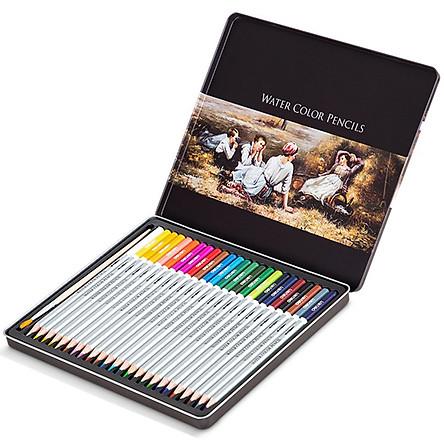 Hộp Bút Chì Màu Nước Cao Cấp Deli