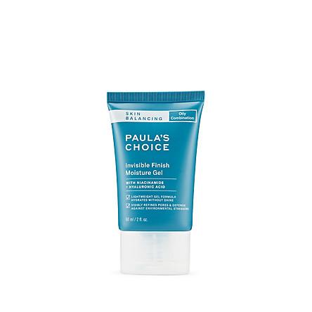 Gel dưỡng ẩm ban đêm cho da mềm mịn Paula's Choice Skin Balancing Invisible Finish Moisture Gel 60ml