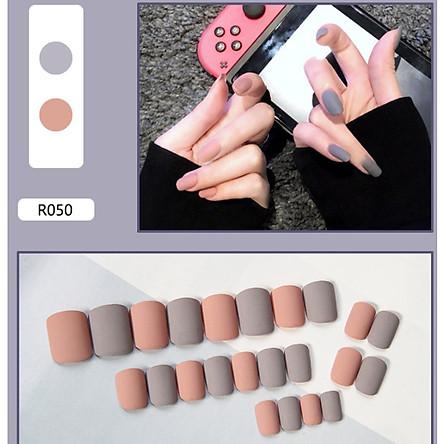 Bộ 24 móng tay giả nail thơi trang như hình (R-050)