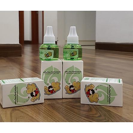Combo 2 lọ tặng 1 - Tinh dầu đuổi muỗi, côn trùng – Cỏ Xiêm La 100% tinh chất thiên nhiên  - Thái Lan