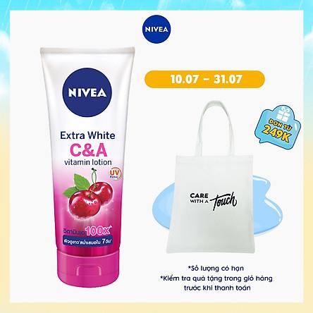 Sữa Dưỡng Thể Dưỡng Trắng Nivea Nivea Extra White C & A Vitamin - 180ml - 80372