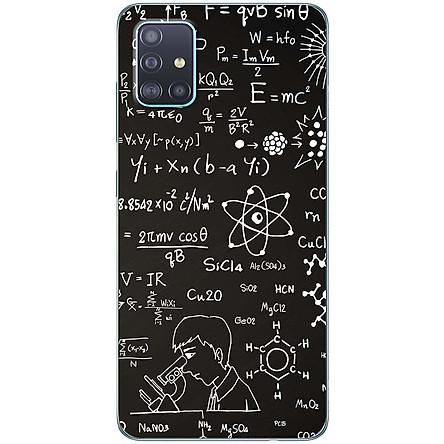 Ốp lưng dành cho Samsung A51 mẫu Hóa học