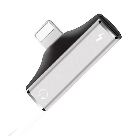 Bộ Chuyển Đổi Cổng Âm Thanh Tai Nghe 2 Trong 1 Cho Điện Thoại iPhone XS/XS Max/XR/X/8/8 Plus/7/7 Plus