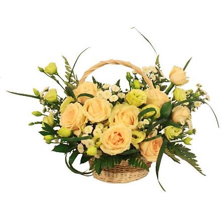 Giỏ hoa tươi - Hạnh Phúc Viên Mãn 4170