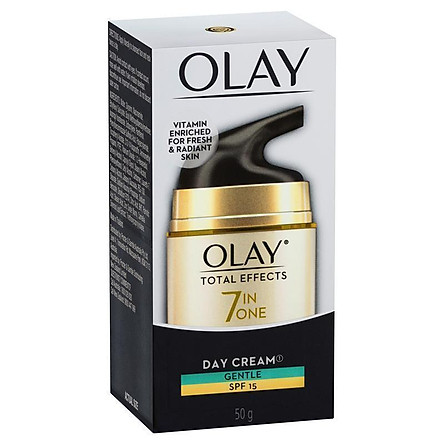 Olay Total Effects 7 in One Day Face Cream Gentle SPF 15 50g