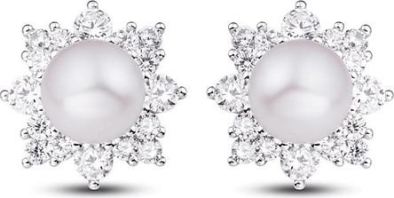 Bông tai bạc đính ngọc trai PNJSilver PFXMK000019-BO