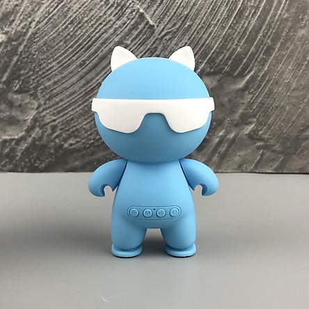 Loa Bluetooth Mini Big Hero GUTEK KC-N1 Kiểu Dáng Cầm Tay Nhỏ Gọn, Nghe Nhạc Không Dây Âm Thanh Chất Lượng, Bass Chất, Đọc Usb Thẻ Nhớ, Đài FM, Cổng 3.5, Nhiều Màu Sắc - Hàng Chính Hãng