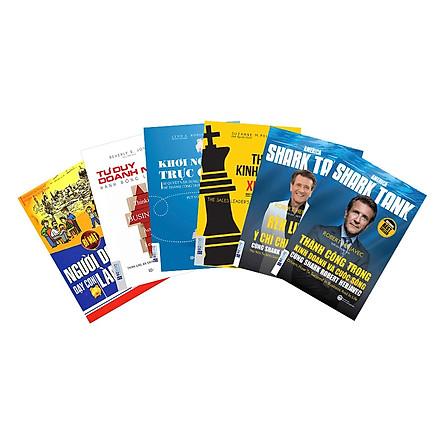 Combo 5 Cuốn Tư Duy Người Lãnh Đạo(Tặng kèm bút chì Kingbooks)