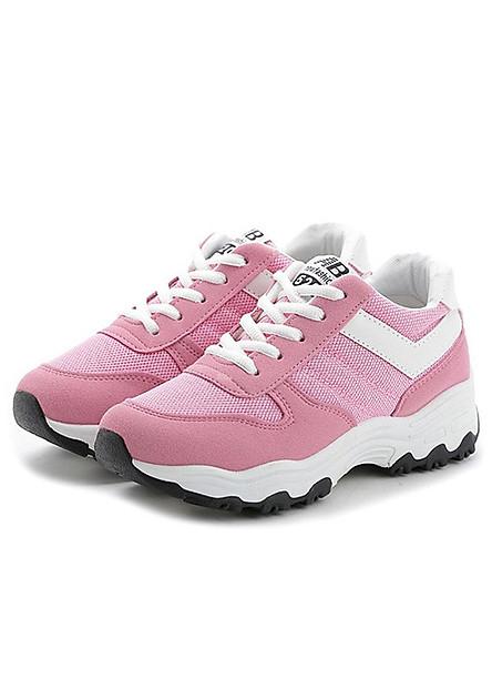 Giày thể thao nữ thời trang màu hồng TT058