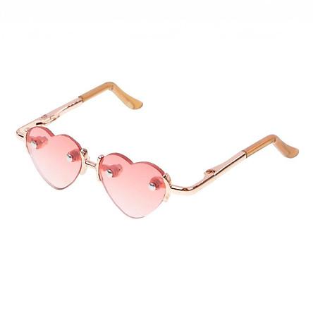 Fashion Gold Leg Heart Glasses Eyewear Eyeglasses for 1/3 BJD SD AS DZ DD #4