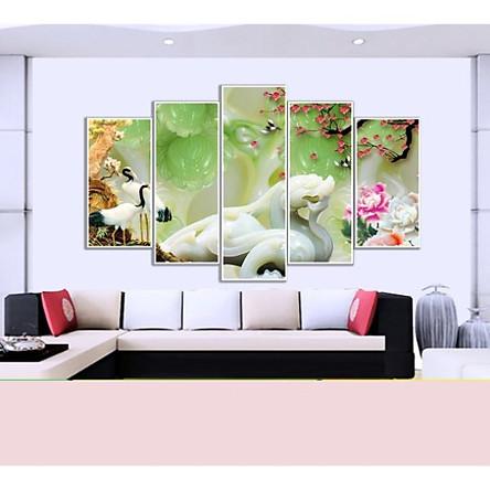 Tranh Treo 3D Phòng Khách |Giả Ngọc |T3M-20922