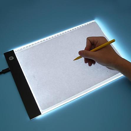 Bảng led hắt sáng 3 cấp độ cho scan tranh