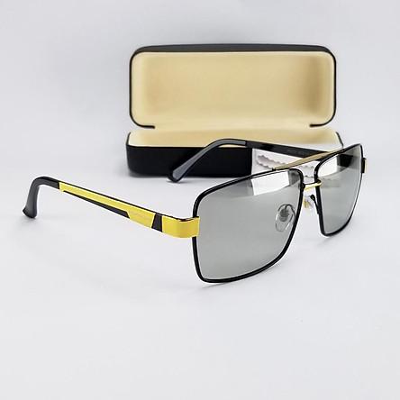 Mắt kính mát nam nữ đổi màu dùng cả ngày và đêm, tròng Polaroid phân cực. Mã DKY8031DM