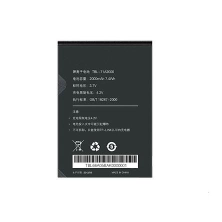 Pin TBL-71A2000 Thay Thế Cho Các Bộ Phát Wifi TP-Link M5250, M5350, M7350 (V5 trở lên), M7300, M7000, M7200
