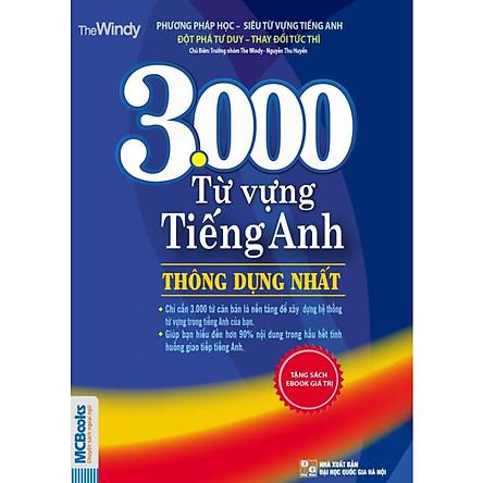 Bộ Combo 3000 từ vựng tiếng Anh thông dụng nhất + 5000 Từ Vựng Tiếng Anh Thông Dụng Nhất (Tái Bản) (Tặng Bút Siêu Kute)