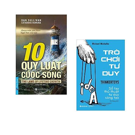 Combo 2 cuốn sách: 10 Quy Luật Cuộc Sống +  Trò chơi tư duy