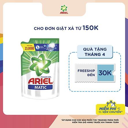Nước giặt Ariel Đậm Đặc dạng túi 1.4kg