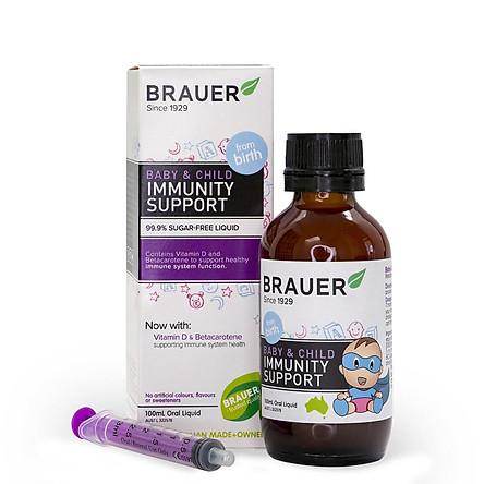 Siro Tăng Đề Kháng Brauer Immunity 100 Ml.