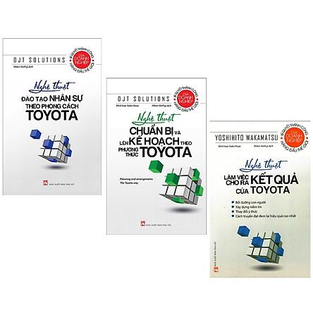 Combo Toyota: Nghệ Thuật Đào Tạo Nhân Sự Theo Phong Cách Toyota + Nghệ Thuật Chuẩn Bị Và Lên Kế Hoạch Theo Phương Thức Toyota + Nghệ Thuật Làm Việc Cho Ra Kết Quả Của Toyota (Bộ 3 Cuốn Sách Giúp Bạn Làm Việc chuyên Nghiệp - Tặng Kèm Bookmark Green Life)