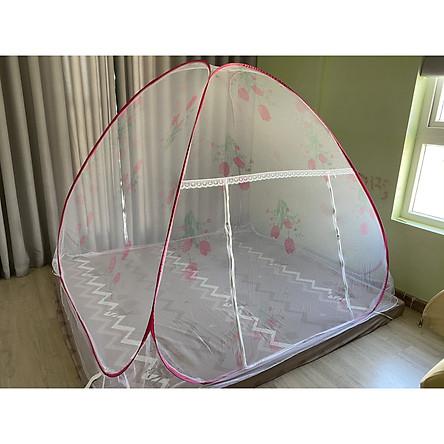 (Mùng Chụp) Màn Chụp Tự Bung Không Đáy Chống Muỗi Cao Cấp Thương Hiệu FUNU - Hàng Chính Hãng (Sản Xuất 100% Tại Việt Nam)