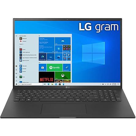 Laptop LG Gram 2021 17Z90P-G.AH78A5 (Core i7-1165G7/ 16GB LPDDR4X/ 1TB SSD NVMe/ 17 WQXGA IPS/ Win10) - Hàng Chính Hãng