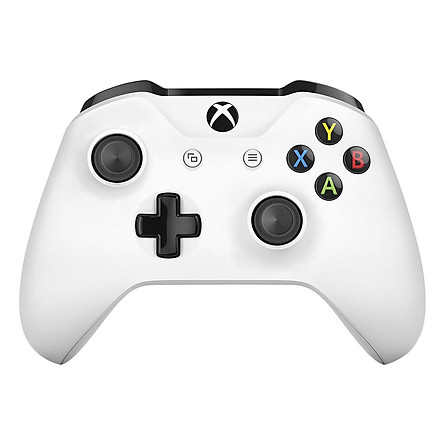 Tay Cầm Microsoft Xbox One S (Màu Trắng) - Hàng Nhập Khẩu