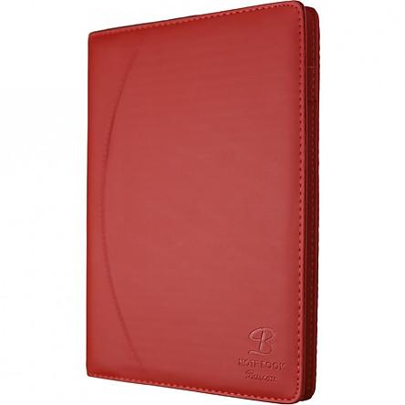 Sổ da 300 trang A4 Klong - TP656 màu đỏ